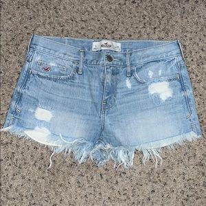 Hollister denim shorts, size 5